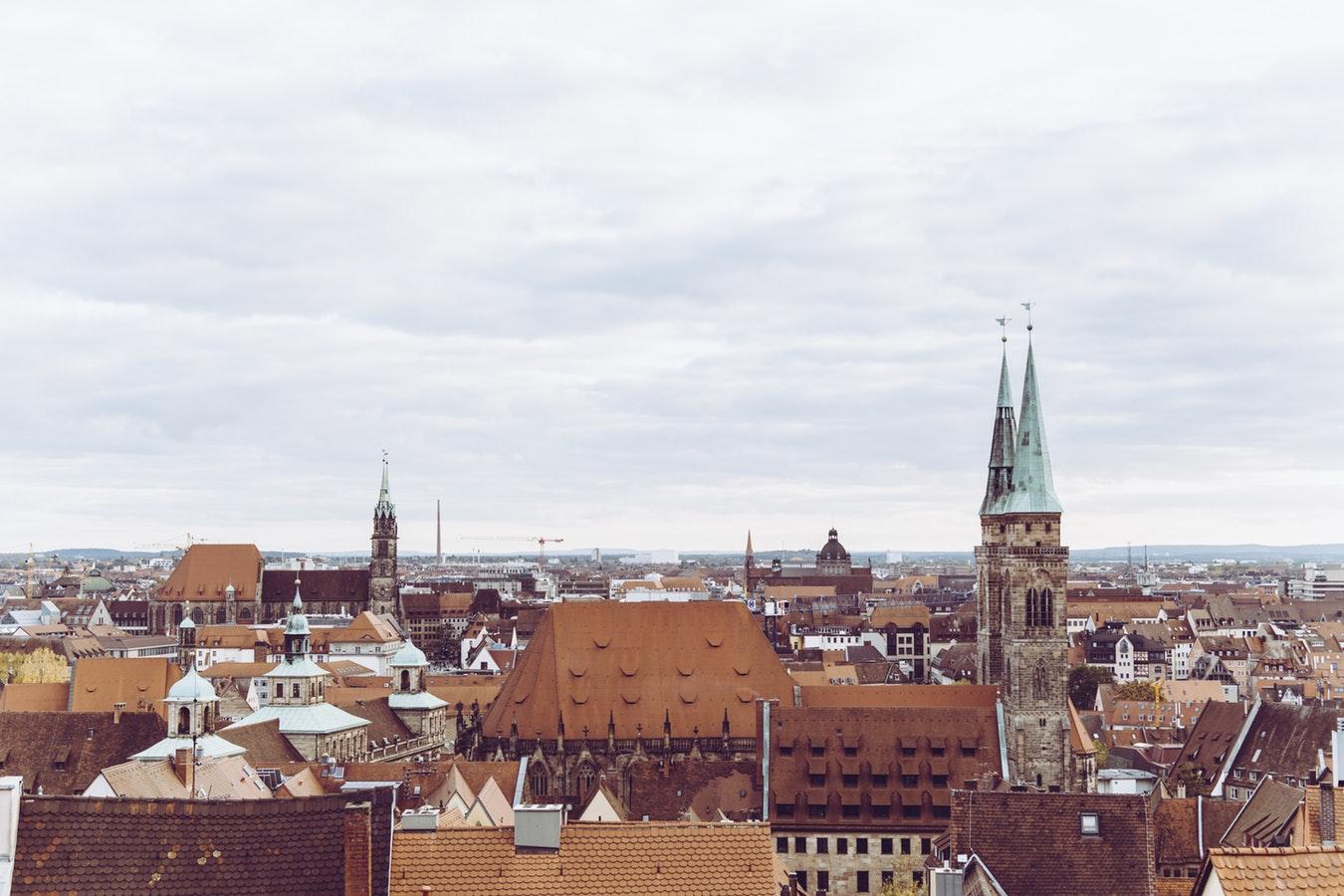 nuremberg skyline